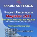 Penerimaan Mahasiswa Baru Program S2 PTK