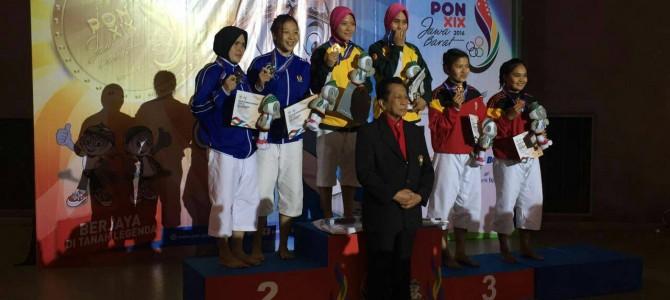 Mahasiswi Fakultas Teknik Prodi Tata Rias Meraih Medali Perak PON XIX 2016 JABAR