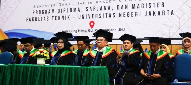 Yudisium 109 Tahun Ajaran 2018/2019 Fakultas Teknik