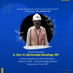Berita Dukacita – Telah Meninggal Ir. Drs. H. Sorimuda Harahap, MT